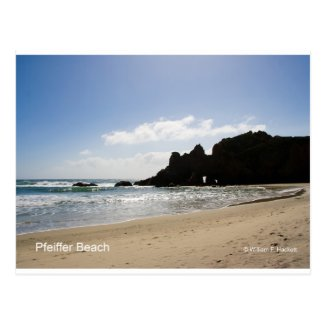 Pfeiffer Beach Big Sur California Products Postcard