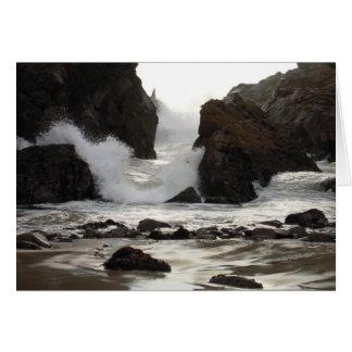 pfeiffer beach state park Big Sur, California Card