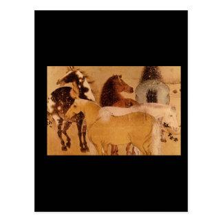 Pferde', unknown artist._The Orient Postcard
