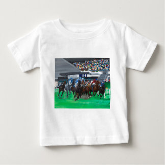Pferderennen Baby T-Shirt