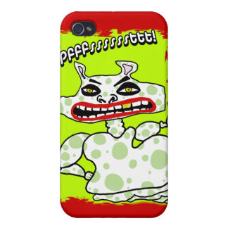 pffsstt red iphone case iPhone 4/4S cover