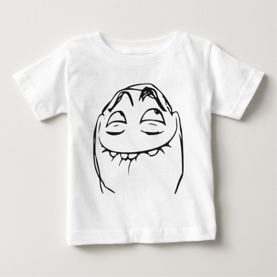 PFFTCH Laughing Rage Face Comic Meme Baby T-Shirt