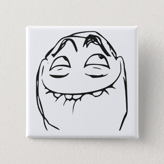 PFFTCH Laughing Rage Face Comic Meme Button