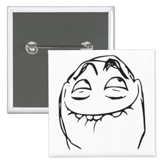 PFFTCH Laughing Rage Face Comic Meme Pinback Button