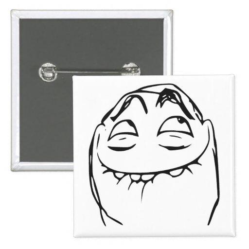 pfftch laughing rage face comic meme button zazzle