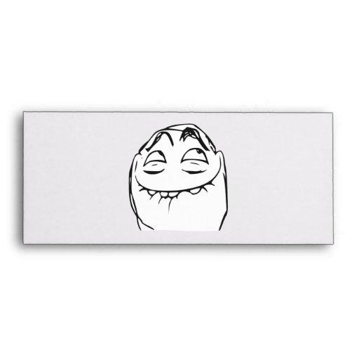 PFFTCH Laughing Rage Face Comic Meme Envelopes