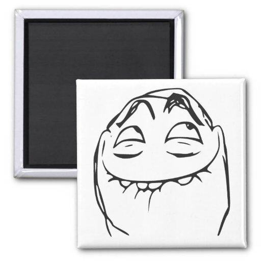 pfftch laughing rage face comic meme magnets zazzle