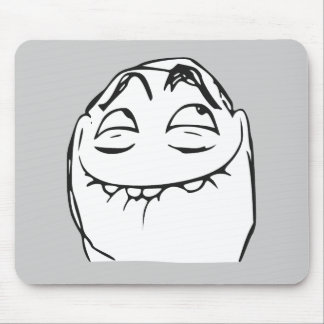 PFFTCH Laughing Rage Face Comic Meme Mouse Pad