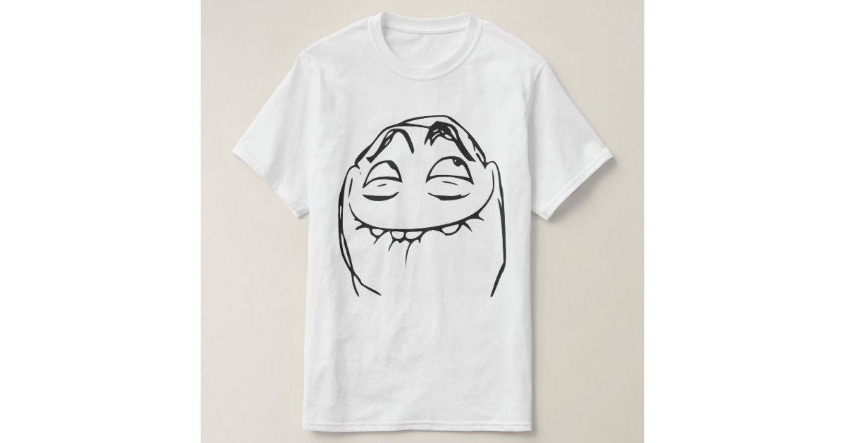 pfftch laughing rage face comic meme tshirt zazzle