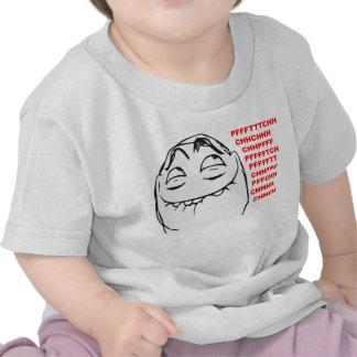 PFFTCH Laughing Rage Face Comic Meme T-shirts