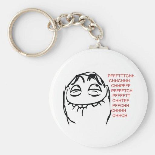 Pfftch Troll Key Chain