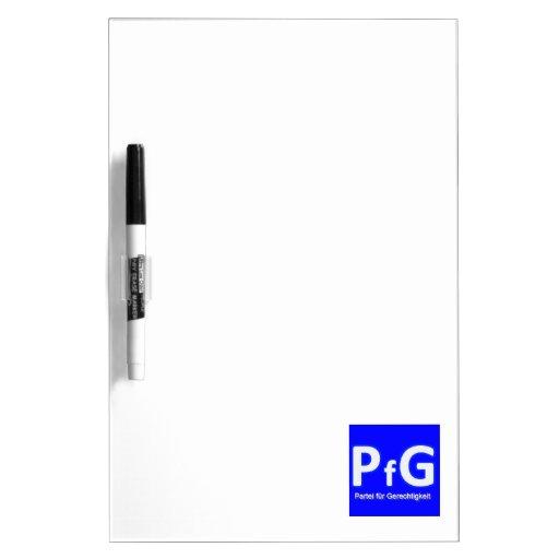 PfG - la alternativa Azul para Alemania Pizarra Blanca