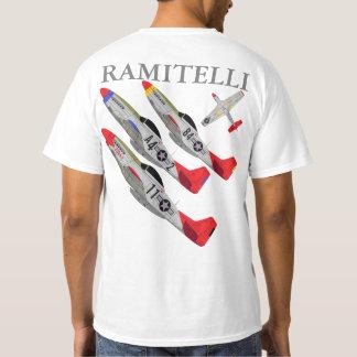 Pfive1 P-51 Redtails Ramitelli T-Shirt