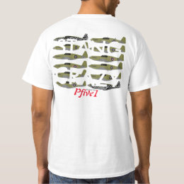 Pfive1 Stang Crazy P-51A T-Shirt