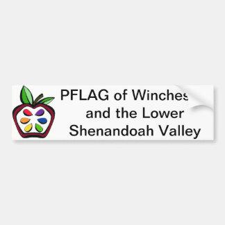 PFLAG de la pegatina para el parachoques de Winche