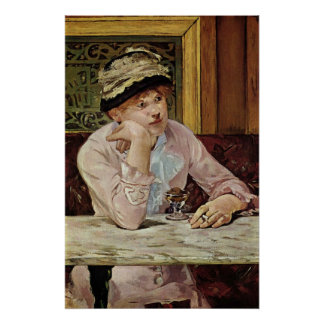Pflaume by Edouard Manet Print