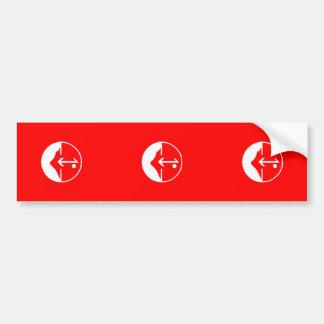 Pflp, Colombia Political flag Car Bumper Sticker