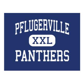 Pflugerville - Panthers - High - Pflugerville Postcard