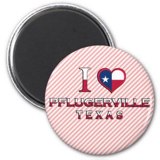 Pflugerville, Texas Fridge Magnets