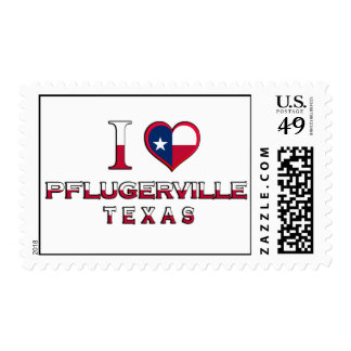 Pflugerville, Texas Postage