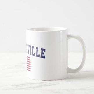 Pflugerville US Flag Coffee Mug