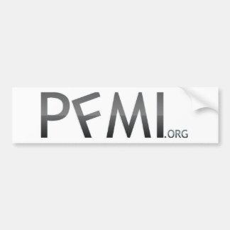 PFMI Bumper Sticker