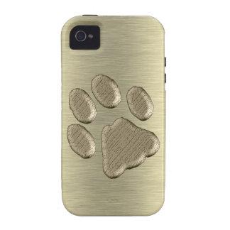 Pfötchen de oro *-* iPhone 4/4S carcasa