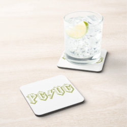 PG/VG Green Drink Coasters