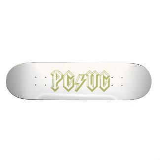 PG/VG Green Skateboard Deck