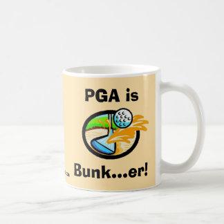 PGA is Bunk...er! Mug