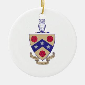PGD Coat of Arms Ceramic Ornament