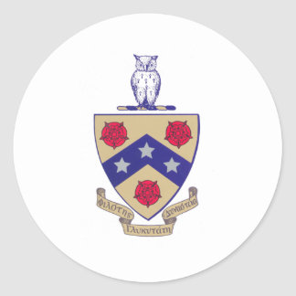 PGD Coat of Arms Classic Round Sticker