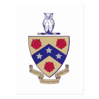 PGD Coat of Arms Postcard