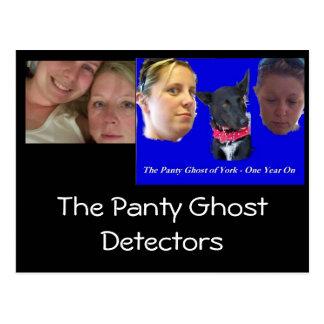 PGD, PG, The Panty Ghost Detectors Postcard