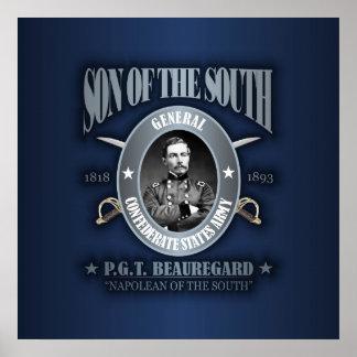 PGT Beauregard (SOTS2) silver Poster