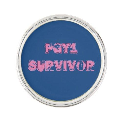 PGY1 Survivor Pin