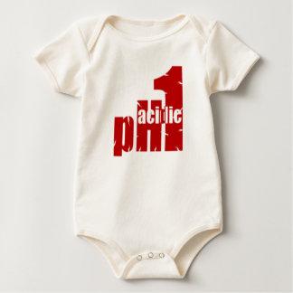 pH1 Acidic Red Baby Bodysuit