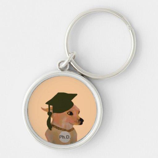 Ph.D. Graduate Keychain
