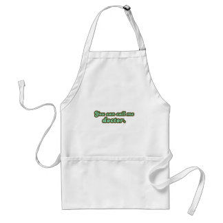 Ph.D. & Med School Graduation Gifts Adult Apron