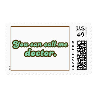 Ph.D. & Med School Graduation Gifts Postage Stamp