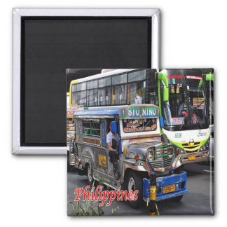 PH - Philippines - Jeepney and  Bus Magnet