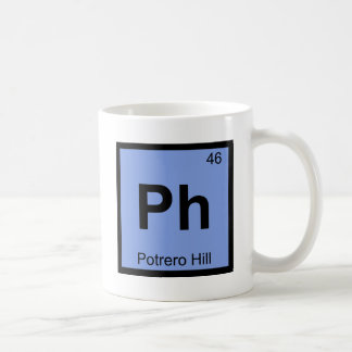Ph - Potrero Hill San Francisco Chemistry Symbol Coffee Mug
