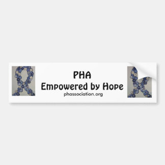 PHA Empowered by Hope Bumper Stickers