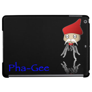 Pha-Gee and the personified bacteriophage. Case For iPad Air