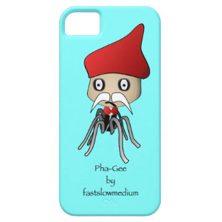 Pha-Gee and the personified bacteriophage. iPhone SE/5/5s Case