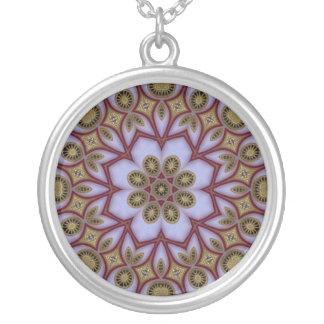 Pha Nam Yoi 2 Round Pendant Necklace