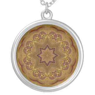 Pha Nam Yoi Round Pendant Necklace