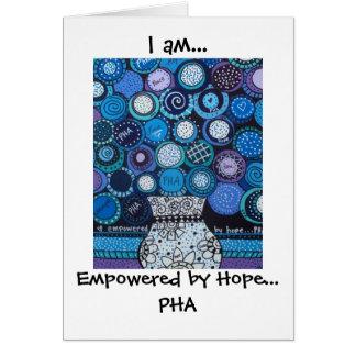 PHA notecard