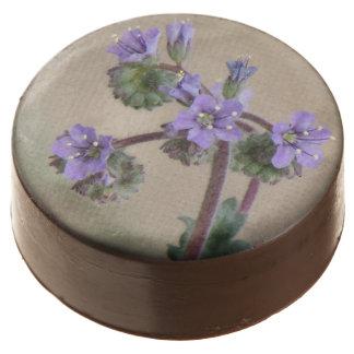 Phacelia Purple Wildflowers Chocolate Covered Oreo