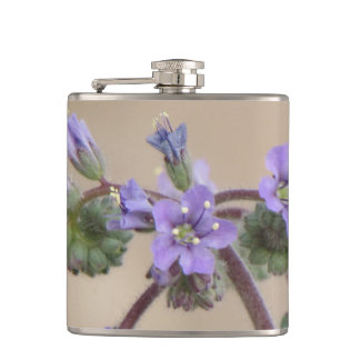 Phacelia Purple Wildflowers Hip Flasks